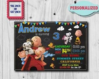 Snoopy Invitation / Snoopy Birthday Invitation / Snoopy Party / Snoopy Birthday / Snoopy Printable / Snoopy Card / Snoopy Invite / Snoopy CK