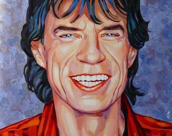 Mick Jagger. The Rolling Stones. / Мик Джаггер