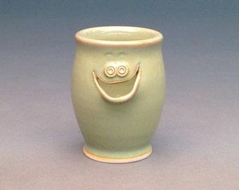 Sage Green, Egg Separator, Ceramic Egg Separator, Pottery Egg Separator, Egg Separator, Handmade Egg Separator