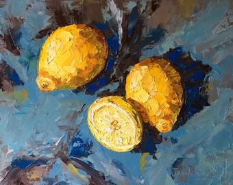 Chunky lemons