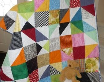 Squares & Triangles Quilt