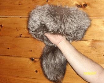 Medium Size Silver Fox Hat