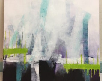 Abstract painting - reconstruction III