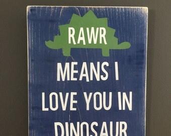 Dinosaur nursery decor
