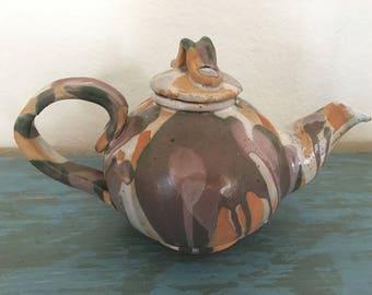 Ceramic SPLAT Teapot