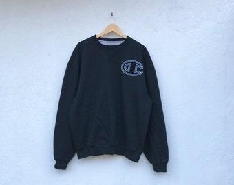 CHAMPION Biglogo vintage oversized sweatshirt