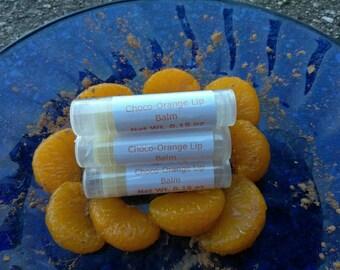Choco-Orange Lip Balm