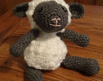 Crochet Lamb-Nursery Decor