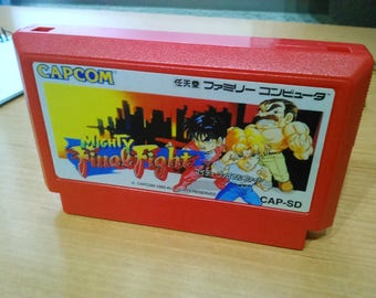 MIGHTY FINAL FIGHT  Famicom Original jap  Nintendo