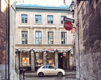 Quebec Photography, Old Montréal Photography, Quebec Wall Art, Fiat Photography