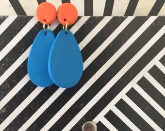 Keeping Tabs: Dangle Earrings in custom colours