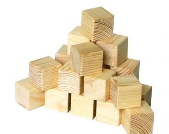 Toy wooden blocks set of 20 pcsBaby wood blocks,unfinished wood blank,wooden block,unfinished wood,wood blocks for painting eco wood