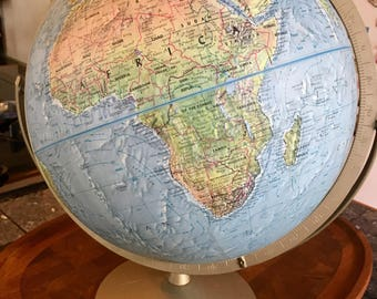 1974-1975 Replogle Globe of the World