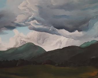 Print-Summer Mountains