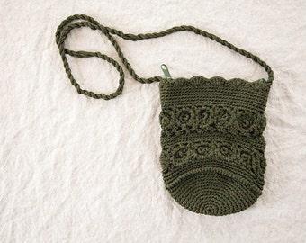Vintage Crocheted Purse