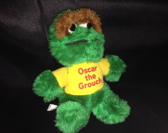 Vintage Oscar the Grouch! VERY RARE!