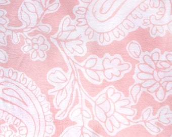 "Pink and white Fat Quarter  - 18"" x 22"""