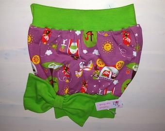 Balloon skirt girl with bow Gr. 86/92