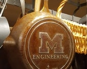University of Michigan Engineering Cast Iron Skillet