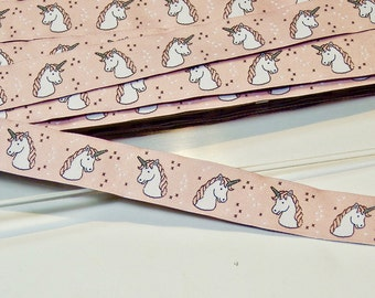 Pink Woven Ribbon Unicorn, Unicorns