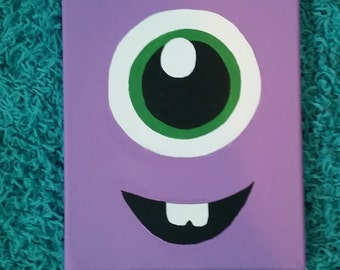 Baby Monster Canvas