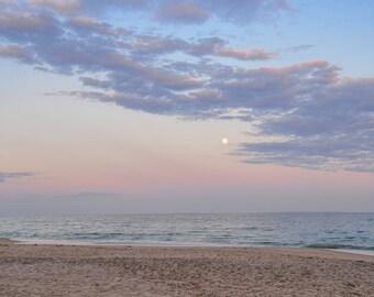"""Photo Print - """"Beach Moon"""""""