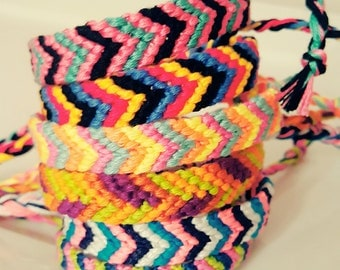 CUSTOMISE Your OWN Chevron STYLE friendship bracelet