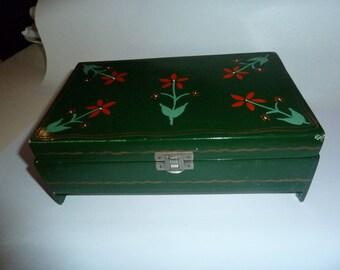 Retro jewellery box