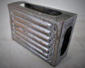 1900s Matchbox Safe Chinese Metal Vintage Rare