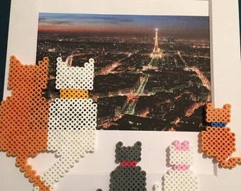 Disney's Aristocat's Bead Picture Art