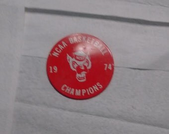 1974 NC State national championship pin