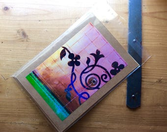 Handmade Card with image of Moroccan Fountain