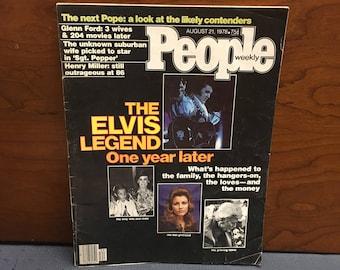 1978 Elvis Legend People Magazine