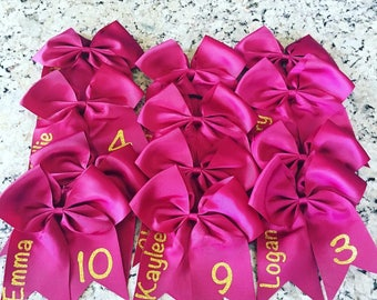 Personalized Sports Bows