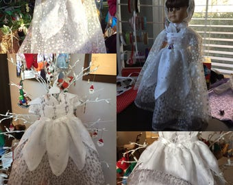 Princess Dress for a little Princess. Specialty Birthday or Easter Gift
