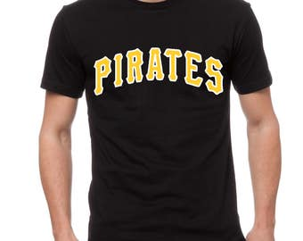 Pirates Baseball Fan Tee; Any Color