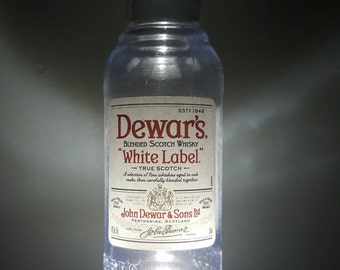 Dewar's Scotch Whisky LED dusk to dawn night light.