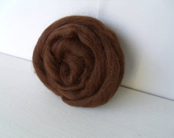20g alpaca wool felting or spinning extremely soft and thin Brown