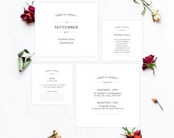Event Invitation, Wedding Invitation, Printable