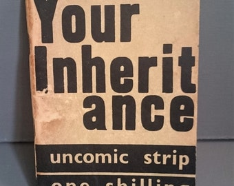 Your Inheritance - The land: an Uncomic Strip - 1942 Vintage Paperback