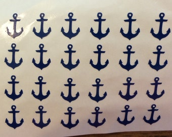 Anchor Nail Decal