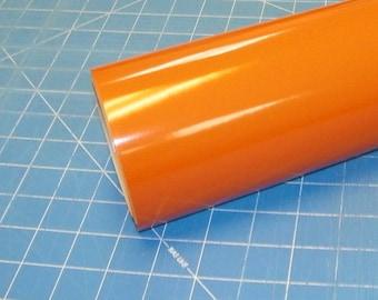 "Light Orange Oracal 651 12"" x 10' Roll * Sign Vinyl * Decal Vinyl"