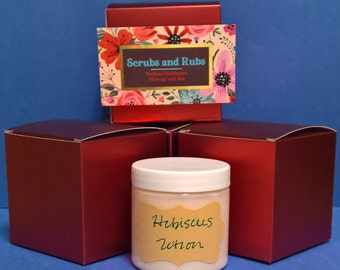 Hibiscus flower shea butter lotion