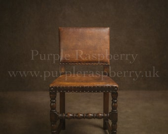 Digital download, background, brown leather chair, prop.