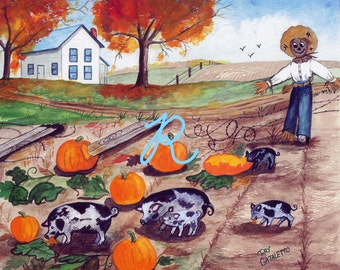Pigs in the Pumpkin Patch