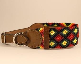 Bo Knitted Dog Collar (M)