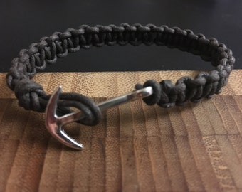 Anchor bracelet men