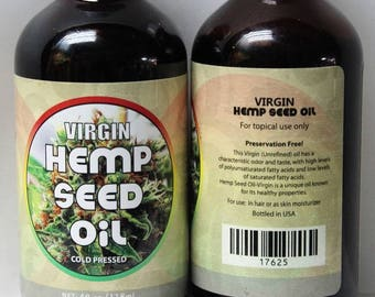 Virgin Hempseed Oil