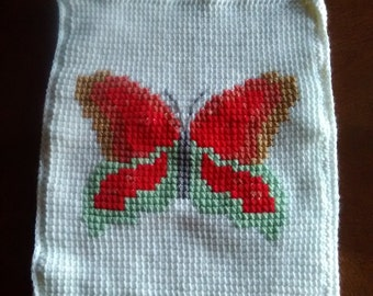 Butterfly pillowcase