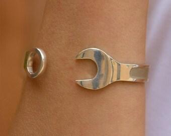 Spanner Cuff Bracelet